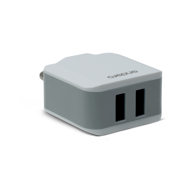 Endefo Dual Port Travel Charger 2.1A