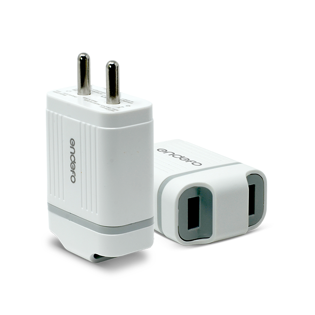 Endefo Dual Port Travel Charger 2.4A